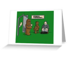 Speech Therapist Greeting Card
