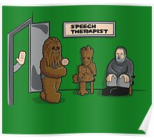 Speech Therapist Poster