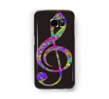 Psychedelic Music note 3 Samsung Galaxy Case/Skin