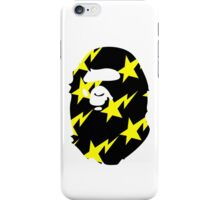 BAPE (YELLOW STAR PRINT) iPhone Case/Skin