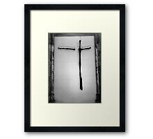 Broken Crucifixion  Framed Print