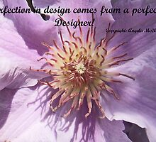 Clematis inspirational card by sarnia2