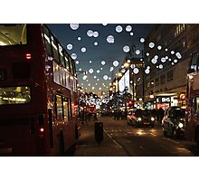 Christmas Lights Photographic Print