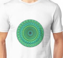Green  Blue Mandala Unisex T-Shirt