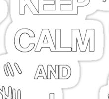 Doctor Who - Keep Calm and I Forgot  Sticker