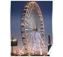 Big Wheel of Augillon-sur-Mer Poster