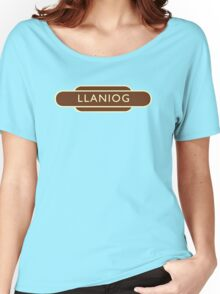 Llaniog Western Region Totem - Ivor The Engine Women's Relaxed Fit T-Shirt