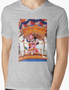 Minnie Mouse Mens V-Neck T-Shirt