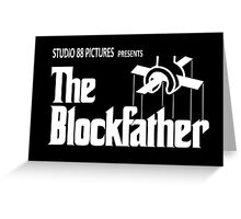 The Blockfather Greeting Card