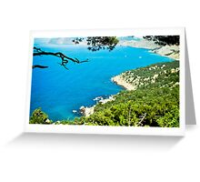 seascape-Crimea, cape Aya Greeting Card