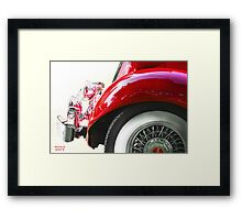 """ Faded to the Front "" Framed Print"