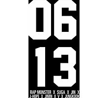 0613 BTS Photographic Print