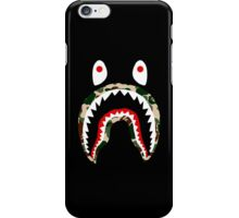 BAPE GREEN CAMO SHARK iPhone Case/Skin