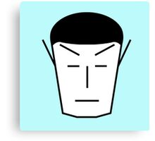 Spock-ish Canvas Print