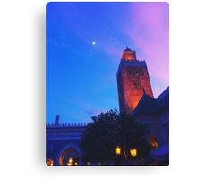 Dusk in Morocco, EPCOT World Showcase Canvas Print