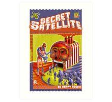 The Secret Satellite Mail Order Flyer #9 Art Print