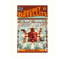 The Secret Satellite Mail Order Flyer #6 Art Print