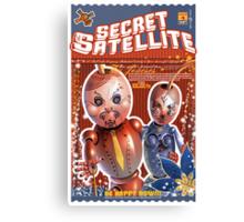 The Secret Satellite Mail Order Flyer #4 Canvas Print