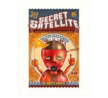 The Secret Satellite Mail Order Flyer #3 Art Print