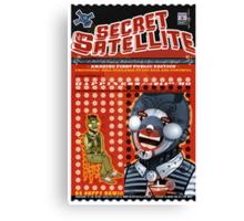 The Secret Satellite Mail Order Flyer #1 Canvas Print