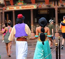 Aladdin and Jasmine by melodykphotos