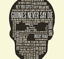 The Goonies - Movie's Quotes  by manupremoli