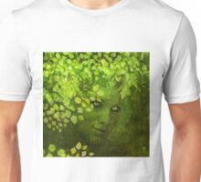 GREEN WOMAN SPRING COMING Unisex T-Shirt