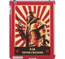 War Never Changes iPad Case/Skin