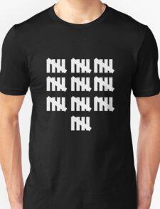 50 tally mark inspired 50th birthday geek funny nerd Unisex T-Shirt