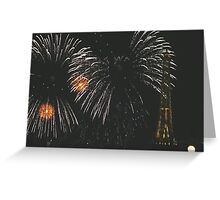 Fireworks over France, EPCOT World Showcase Greeting Card