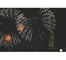 Fireworks over France, EPCOT World Showcase Photographic Print