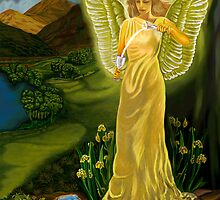 Temperance Goddess by Pamela  Wells