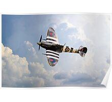 BBMF Spitfire AB910 Poster