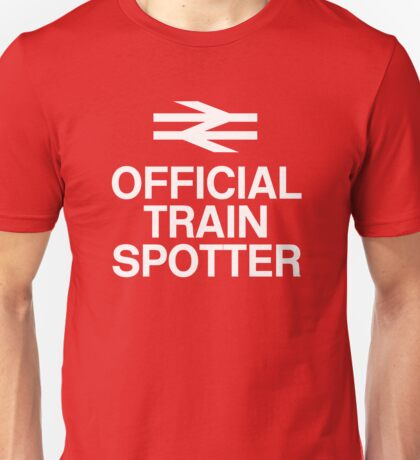 Official Trainspotter Unisex T-Shirt