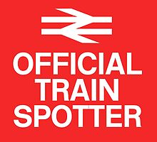 Official Trainspotter by CherryCassette