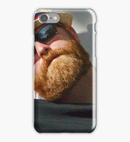 Red Beard, The Dozer iPhone Case/Skin