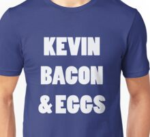 80s kevin bacon and eggs geek funny nerd Unisex T-Shirt