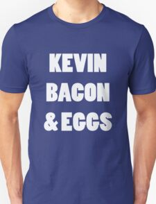 80s kevin bacon and eggs geek funny nerd T-Shirt
