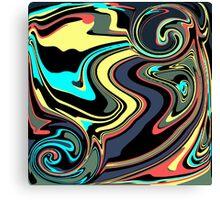 Fluid Colors Canvas Print
