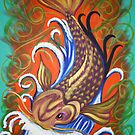Koi Love by Bridgette O'Keefe