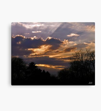 Crown Cloud Canvas Print