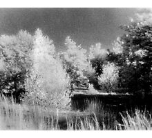 New England Infrared landscape Photographic Print