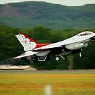 Thunderbird F-16 by bhavindalal