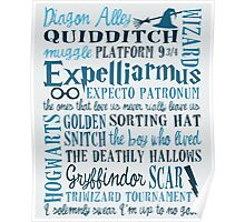 Harry Potter - All Books and Movies Quotes  Poster