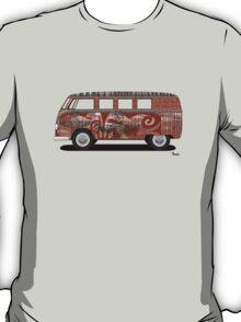 VW Barndoor Hippie Bus T-Shirt