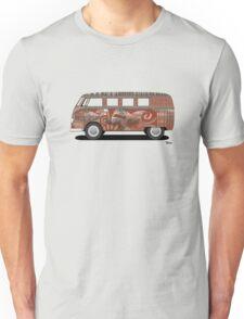 VW Barndoor Hippie Bus Unisex T-Shirt