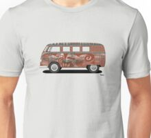 VW Barndoor Hippie Bus Unisex T-Shirt