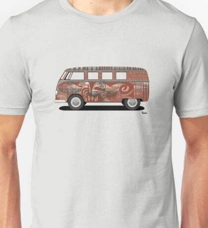 VW Barndoor Hippie Bus T-Shirt