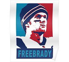 Free Brady Poster