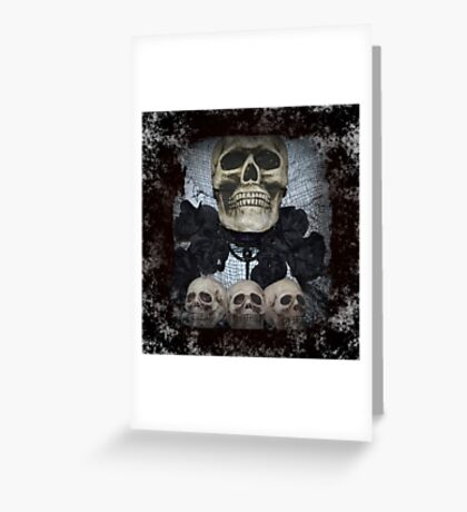 The Skulls Greeting Card